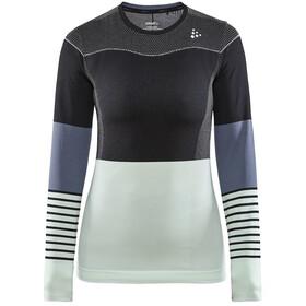 Craft Fuseknit Comfort Blocked Koszulka z długim rękawem Kobiety, black/deco